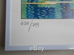 2000 , Serigraphie de Milo Manara, numérotée et signée au crayon