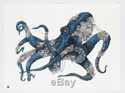 ARDIF Octopus Mechanimal (atlantic) Edition originale signée numérotée /45 COA