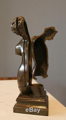 ARMAN & Bocquel Fondeur Dans le soi Transculpture Bronze signe numerote