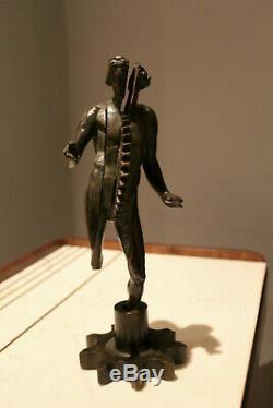ARMAN & Bocquel Fondeur Engresage Transculpture Bronze signe numerote