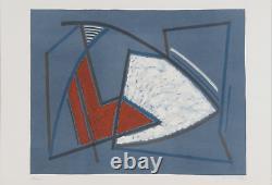 Alberto MAGNELLI Lithographie couleur Edition Il bisonte Signée 68/100