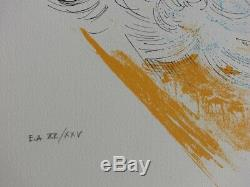 Amandine DORE Les muses LITHOGRAPHIE érotique originale signée #25ex