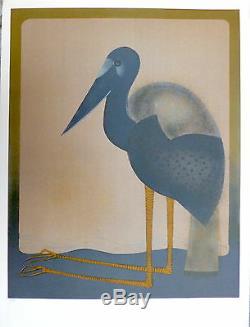 André MINAUX Lithographie Signée numérotée peintres témoins de leur temps