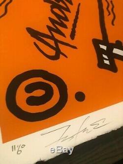 Andre x Futura 2000 Chez Nous Orange 60 Ex 2018 seth condo stik jonone
