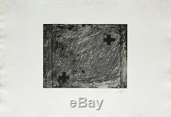 Antoni TÀPIES / Hand signed etching print