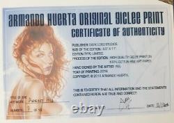 Armando Huerta original giclé print numeroté et signé avec coa