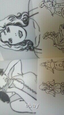 Artbook Kamasutra de Milo Manara Cartonné EO (2008) BD érotique 18+