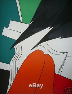 Artigas Lithographie originale signée numérotée art abstrait abstraction Miro