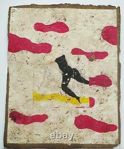 BRISSON Pierre-Marie Ciel rose Gravure au carborundum signée et numérotée