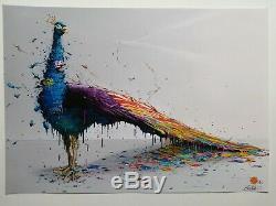 BRUSK street art sérigraphie PANTOMIME signé-numeroté 30ex (BANKSY-C215)
