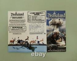 Banksy original Pack Of 10 Oeuvres Dismaland Cardboard Signed And Numbered