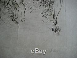 Bellmer Hans Gravure 1972 Signée Au Crayon Num/lxx Handsigned Etching Sexualite
