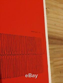 Bernard Aubertin Lithographie 1972 signée numérotée