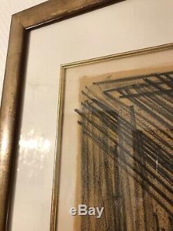 Bernard Buffet Original Lithographie Signé Édition Limité 64/150 La Corrida