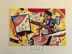Bernard RANCILLAC, MICKEY MOUSE Sérigraphie Originale Signée Numérotée EA 30 Ex