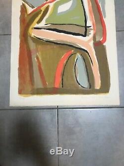 Bram Van Velde Lithographie Soleil