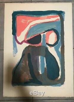 Bram Van Velde Nuit Lithographie 30/300