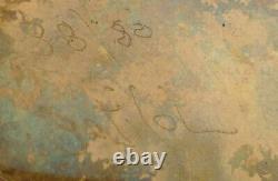 Bronze moderniste presse-papiers dlg Pomodoro signé et numéroté