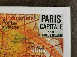 C215 (Christian Guemy) Paris les Amoureux 100x70 cm XXL (no Obey, Banksy, invader)
