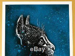 C215 Christian Guemy Print Felix 2019 Signee Numérotée COA Street Art Chat Cat