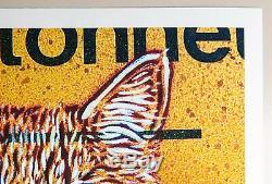 C215 Christian Guemy Print Minet 2020 Signé Numéroté Street Art Chat Cat
