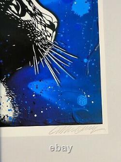 C215 Christian Guemy Street Art- Print Mallow Signé & Numéroté