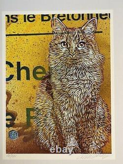 C215 Christian Guemy Street Art- Print Minet Signé & Numéroté