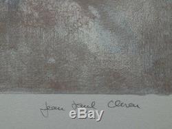 CLEREN Jean-Paul Visage Imaginaire LITHOGRAPHIE signée et numérotée #250ex