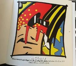 CRASH aka JOHN MATOS sérigraphie sign-num/200 + livre 2012 /seen/cope2/taki