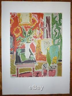 Cavailles Jules Lithographie numérotée Musée Toulouse Lautrec Albi 1982
