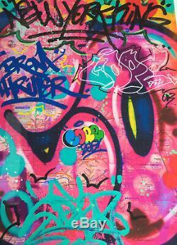 Cope2, Cope 2, Cope2 Print, Cope2 sérigraphie, graffiti, street art