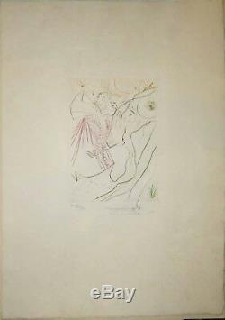 DALI Salvador LE DECAMERON. Boccace, 1972. Ouvrage complet de LUXE 2 SUITES