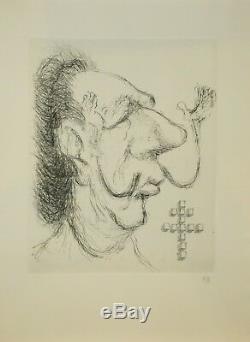 DALI Salvador Procès en diffamation, 1971 OUVRAGE COMPLET & Gravures signées
