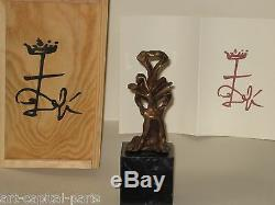 Dali Salvador Bronze 1974 La Clef Signé Numéroté Signed Numbered Bronze The Key