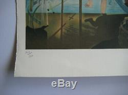 Dali Salvador Lithographie Signée Crayon Num/300 Handsigned Numb Lithograph