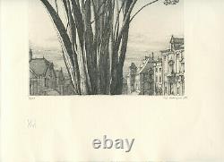 Desmazieres Eric Gravure 1983 Signée Au Crayon Num/150 Handsigned Numb Etching