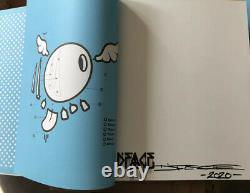 Dface Monograph Book 2020 Hand signed book, Rare Not Banksy