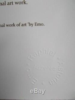 Emo Raphiel Astoria Eternal Soul , Street Art Graffiti, Serigraphie 25 Ex