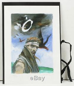 Enki Bilal. 14 lithographies originales numérotés et signées. 1/20. Ulysse