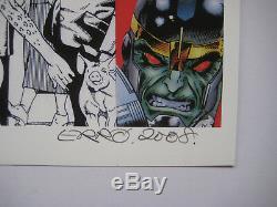 Erro Sérigraphie 2008 Signée Au Crayon Numéroté/30 Handsigned Numb/30 Silkscreen