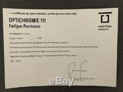 Felipe Pantone Optichromie 111 Signée et numérotée par l'artiste 2019