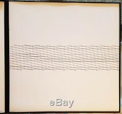 François Morellet Portfolio of 10 silkscreens each one SIGNED in pencil 1975