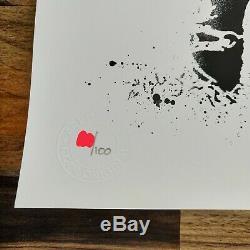 GOIN AMOR serigraphie 100 ex. Sold Out Print COA Banksy Blek le Rat Jef Aerosol