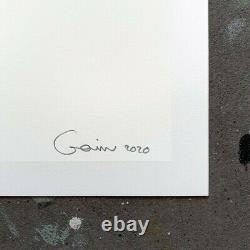GOIN ART Never Go Back To School Edition 50 not Banksy Dface Shepard obey