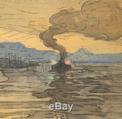 Géo Fourrier, Auguste Matisse, Constantinople, gravure, Istanbul, Symbolisme