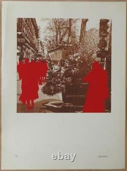 Gérard Fromanger (né en 1939) Titre Boulevard des Italiens