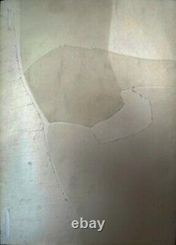 Gilou Brillant, gravure au carborandum