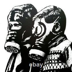 Goin Lithographie Signée et numérotée Sold out not banksy seth shepard obey