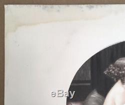 Gravure Ancienne Eau-Forte Portrait Femme Élégante Chats Maurice Millière 1932