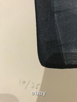 HANS HARTUNG Grande Lithographie Numérotée Et Signée À La Main